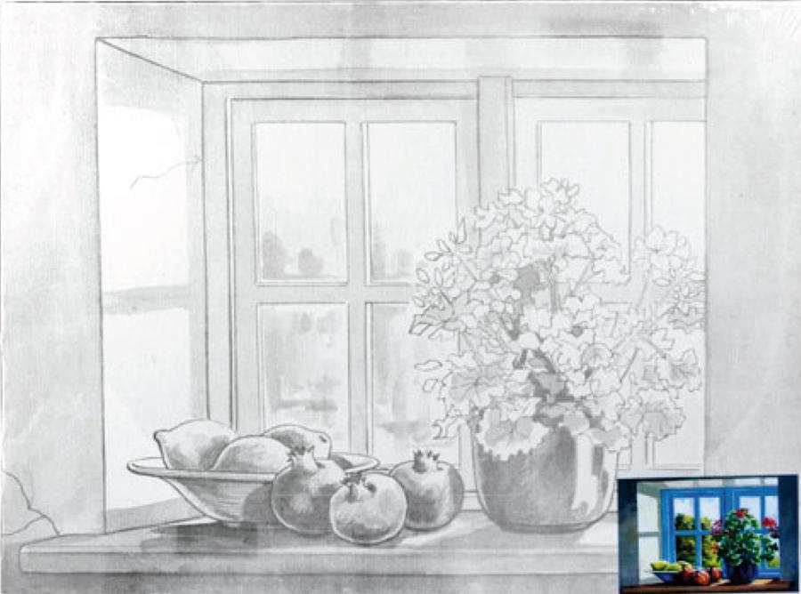 Картинки лазурное окно ноябре экраны